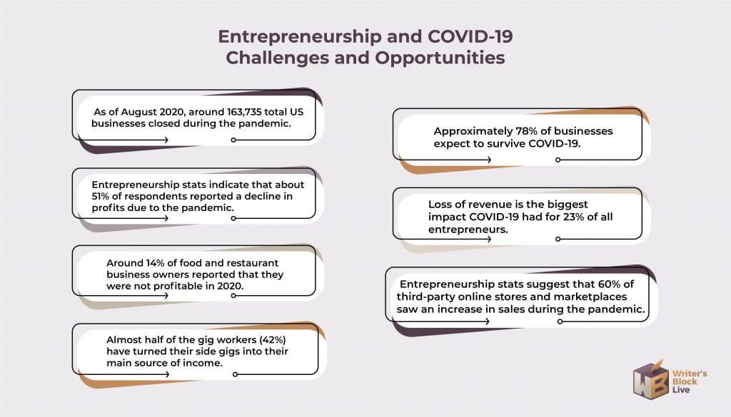 Entrepreneur Statistics covid-19